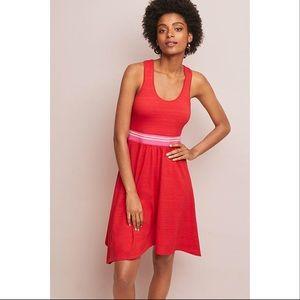 Maeve Dana Racerback Dress in Red Size XL